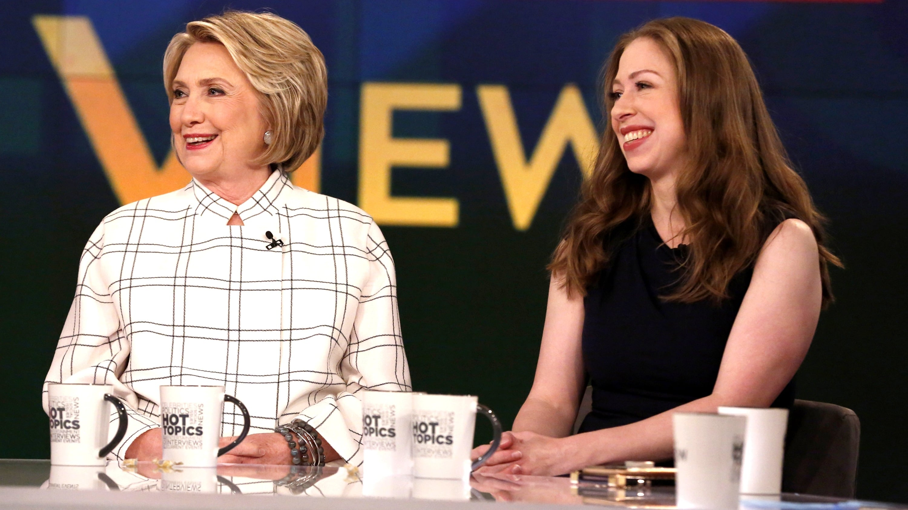 The View Season 23 :Episode 22  Hillary Clinton and Chelsea Clinton; Ben Platt