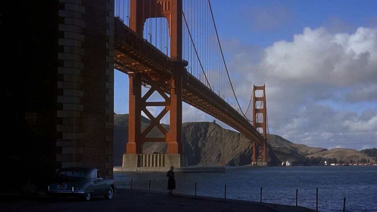 famous scene from Vertigo