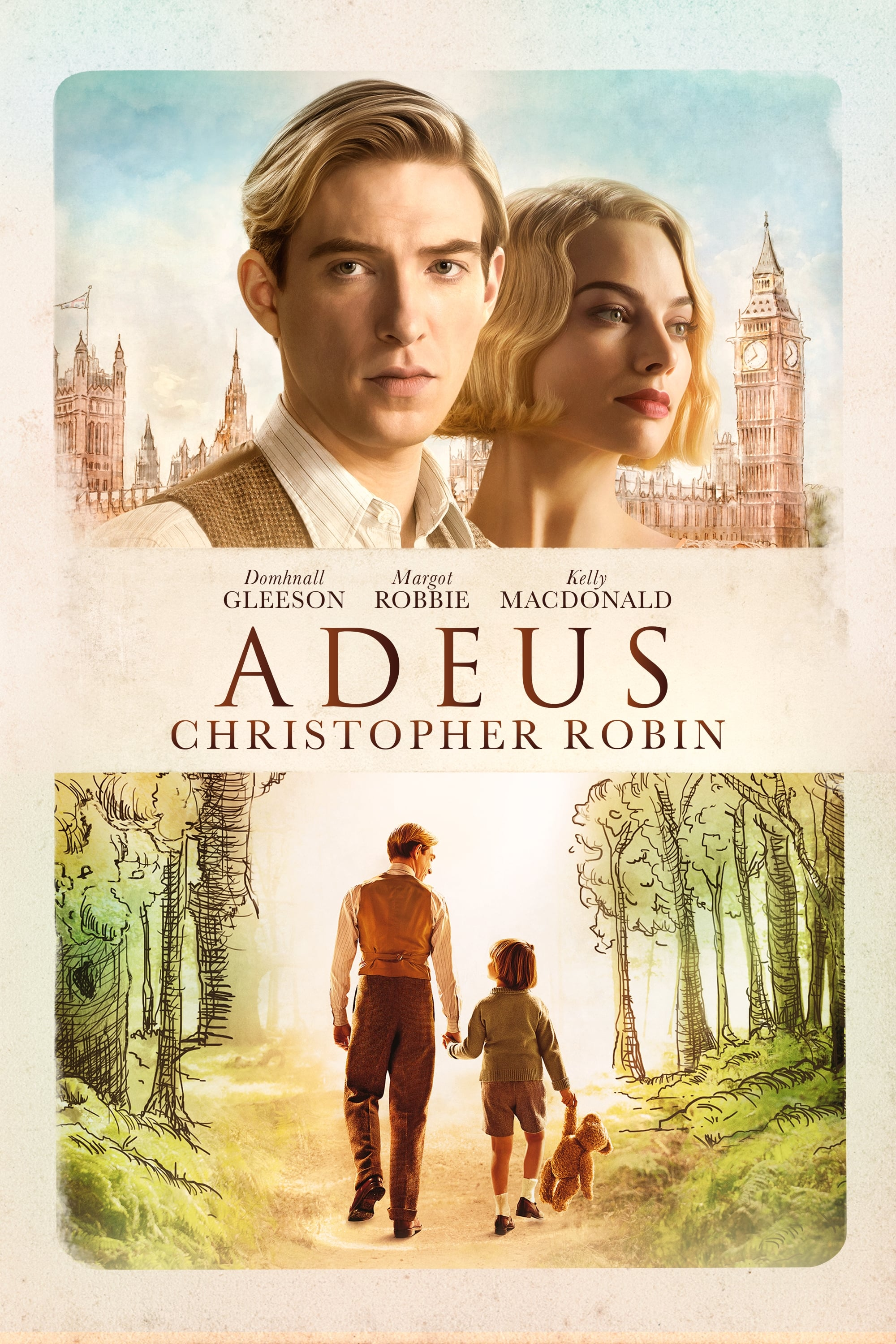 Adeus Christopher Robin – Legendado (2017)