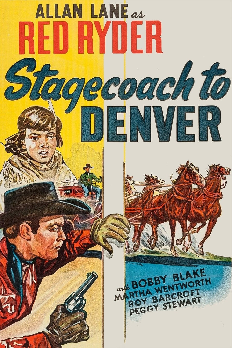 Stagecoach to Denver on FREECABLE TV