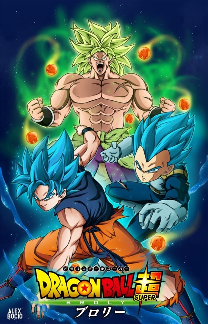 Dragon Ball Super Broly (2018) HD 1080P LATINO/JAPONES