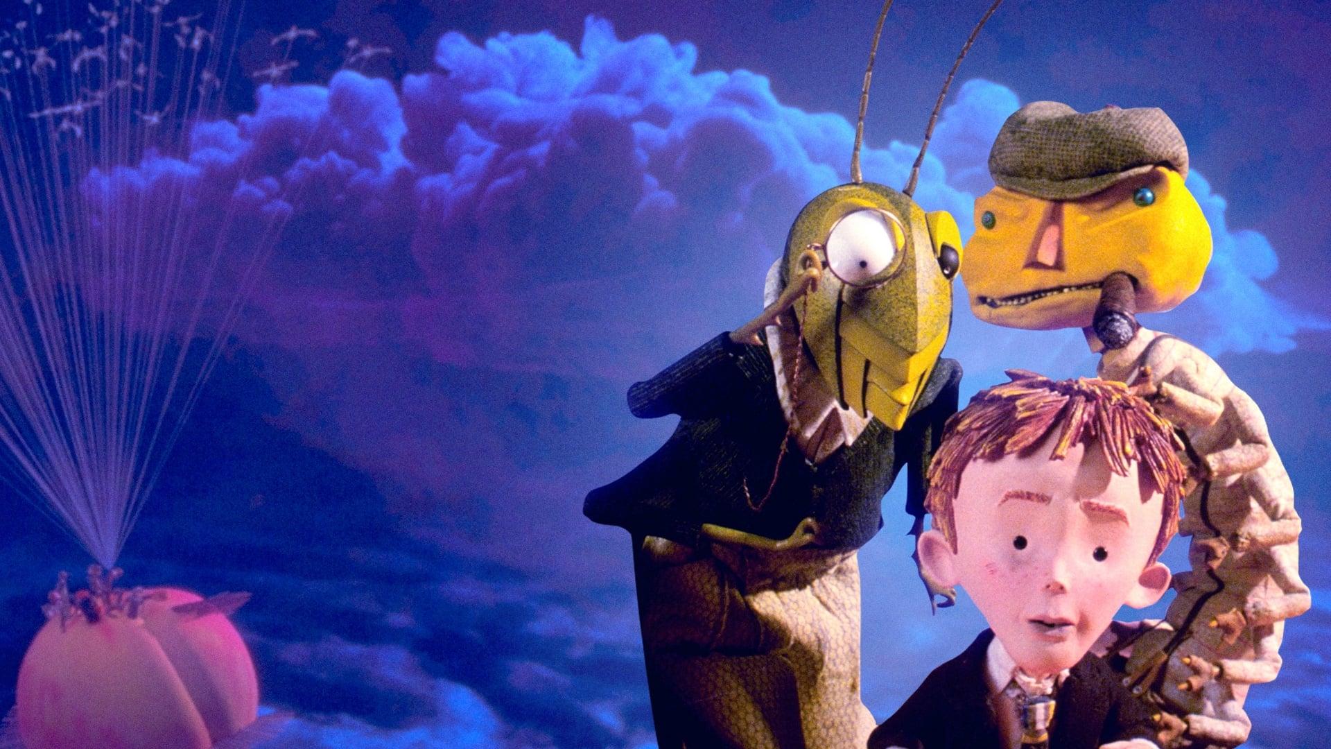 Jim y el durazno gigante