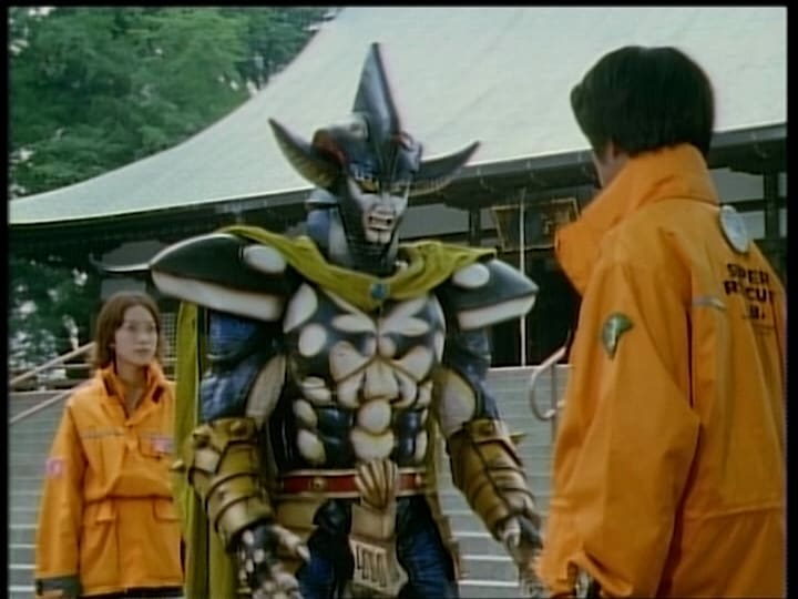 Super Sentai Season 23 :Episode 33  An Innocent Psyma Warrior