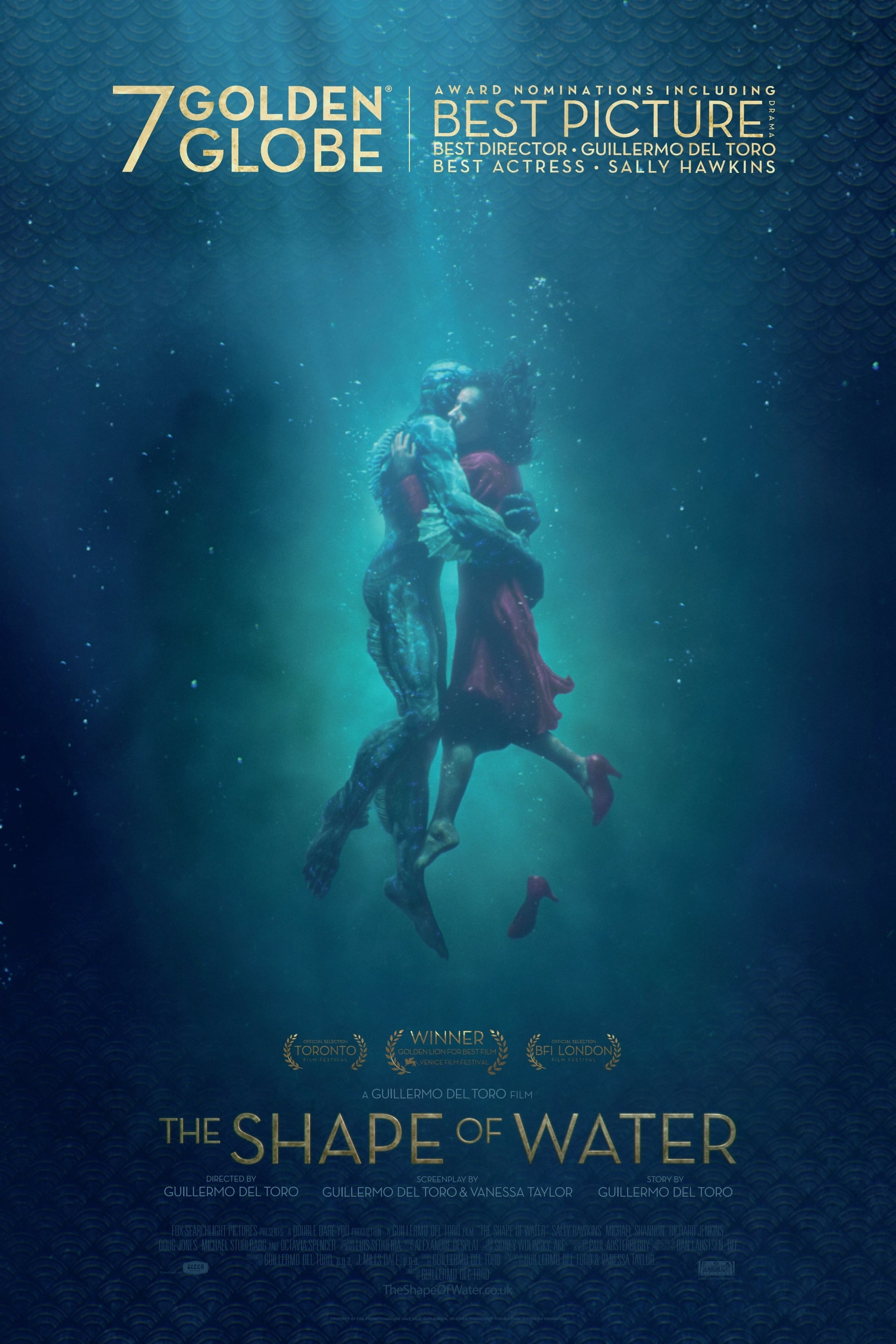 The Shape of Water (2017) BluRay | 1080p 10bit x265 [4.72 GB] | 720p x264 [1.5 GB]| Hindi-English