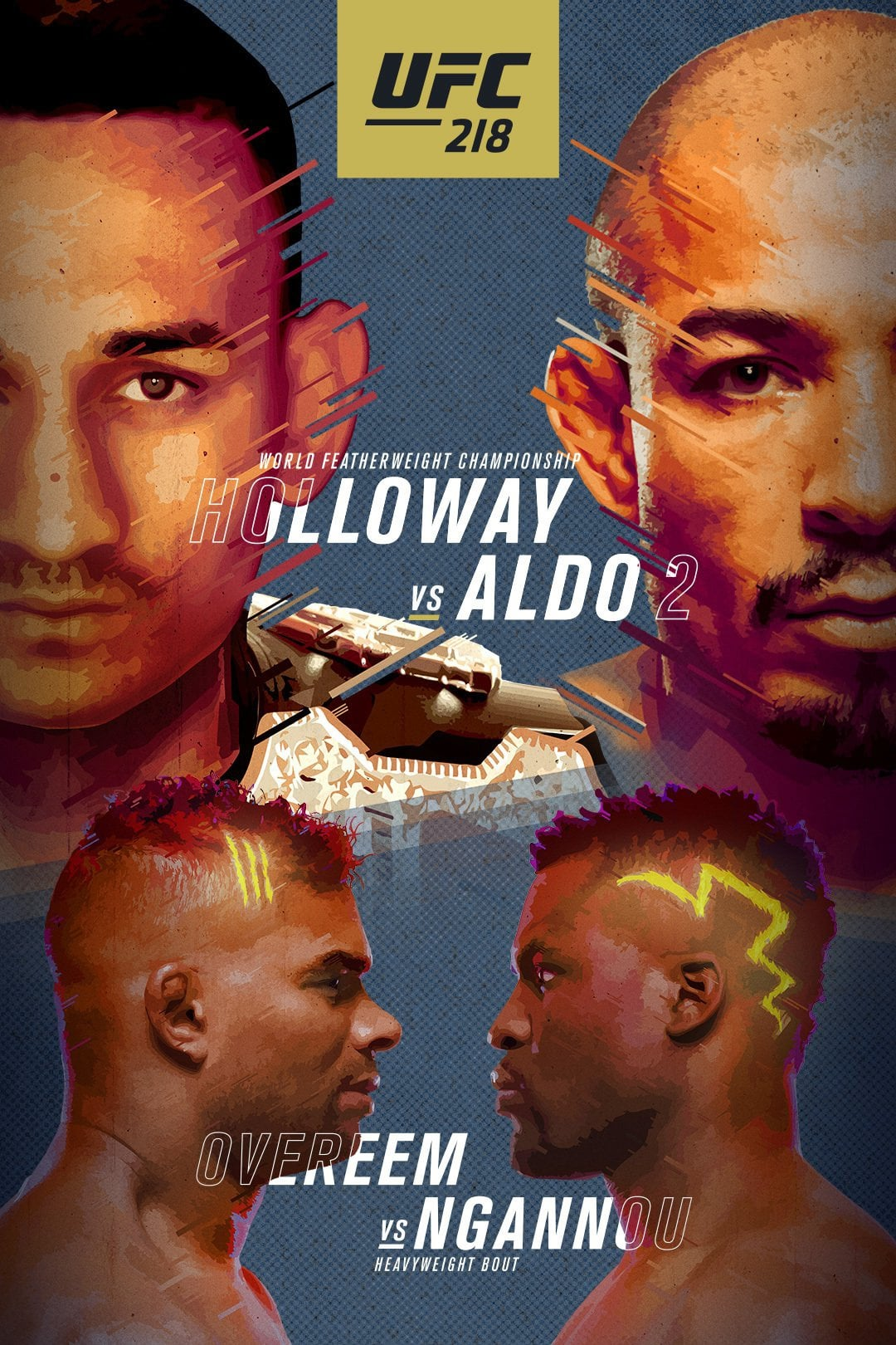Ver UFC 218: Holloway vs. Aldo 2 Online HD Español ()