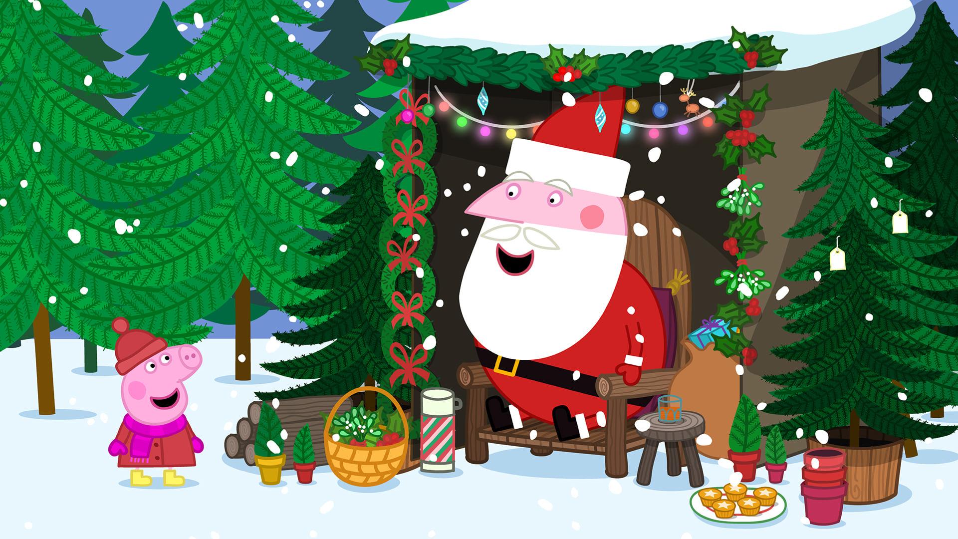 Peppa Pig Season 5 :Episode 32  Father Christmas