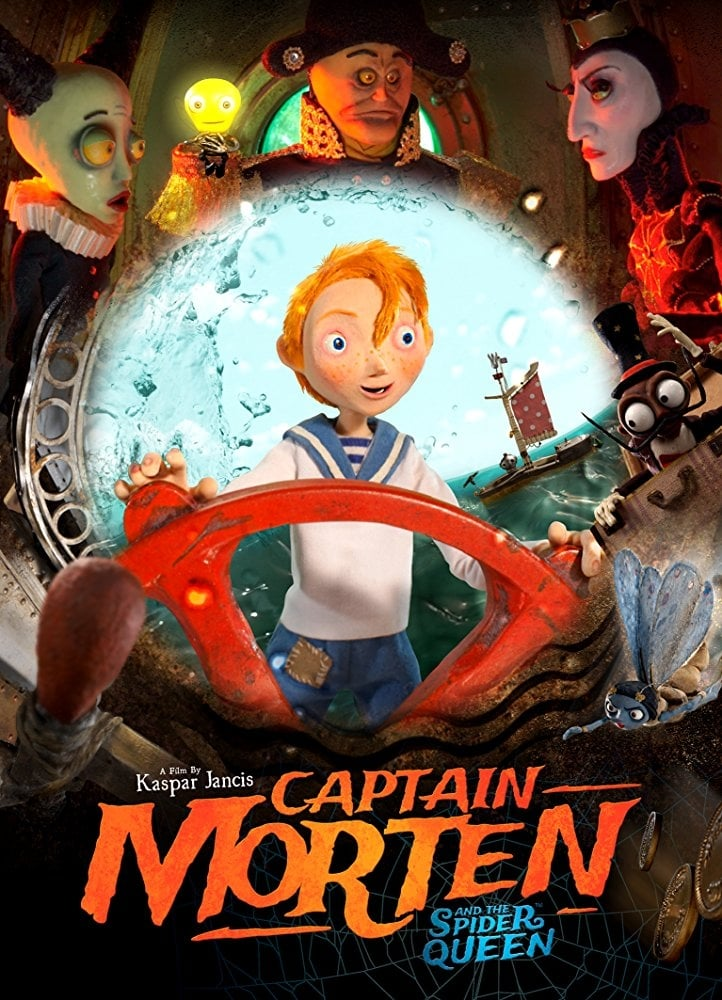 Ver Captain Morten and the Spider Queen Online HD Español (2018)