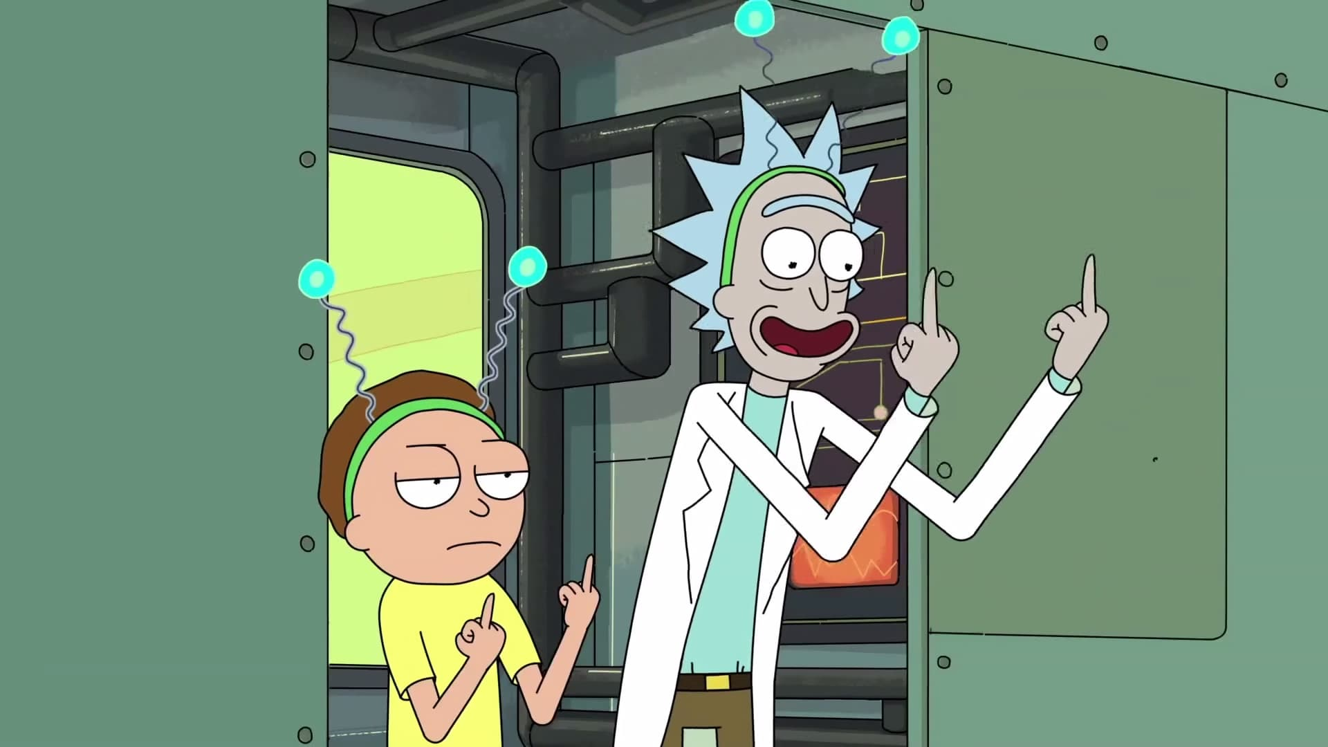 Rick and Morty Season 2 :Episode 6  The Ricks Must Be Crazy