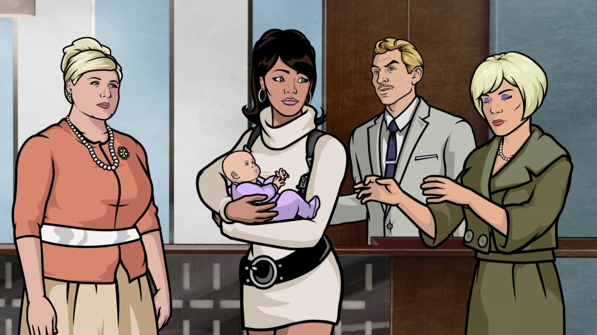 Archer Season 2 :Episode 3  Blood Test