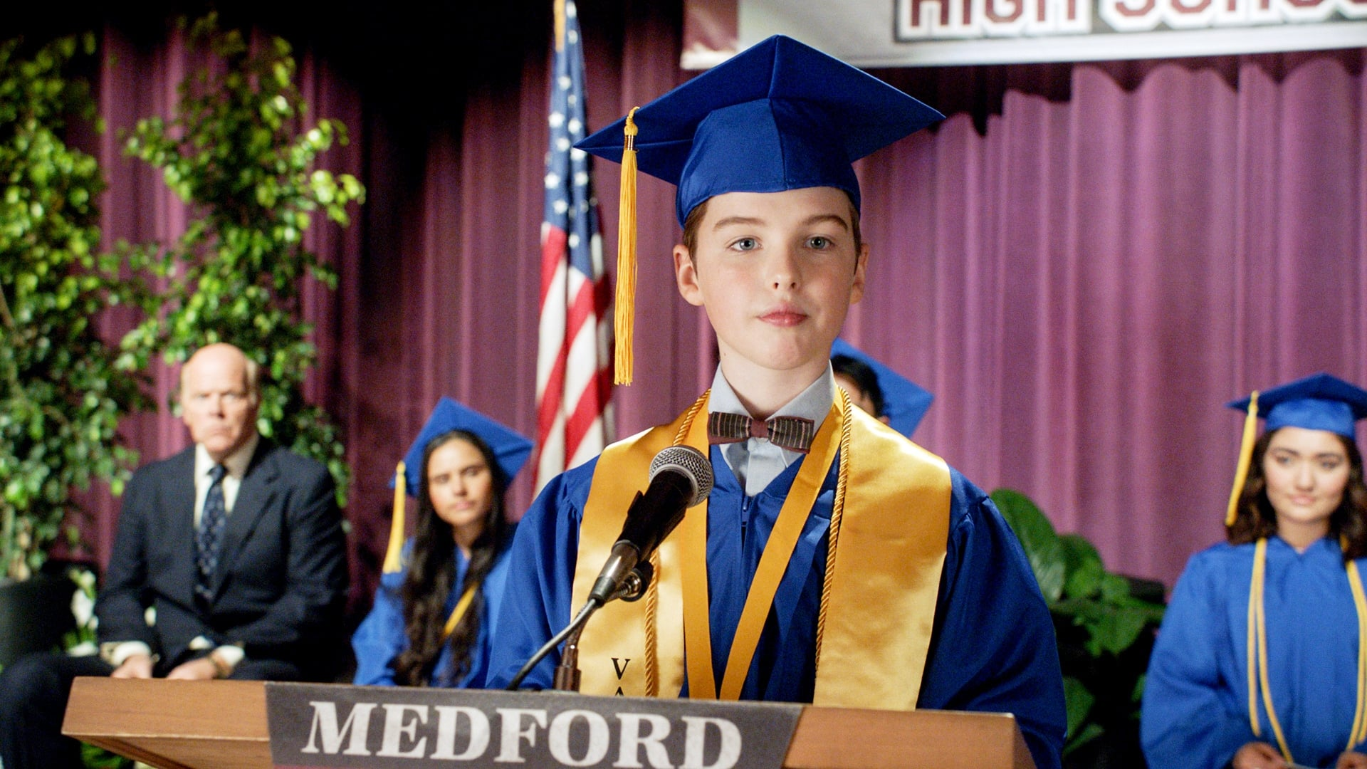 Young Sheldon Season 4 :Episode 1  Graduation