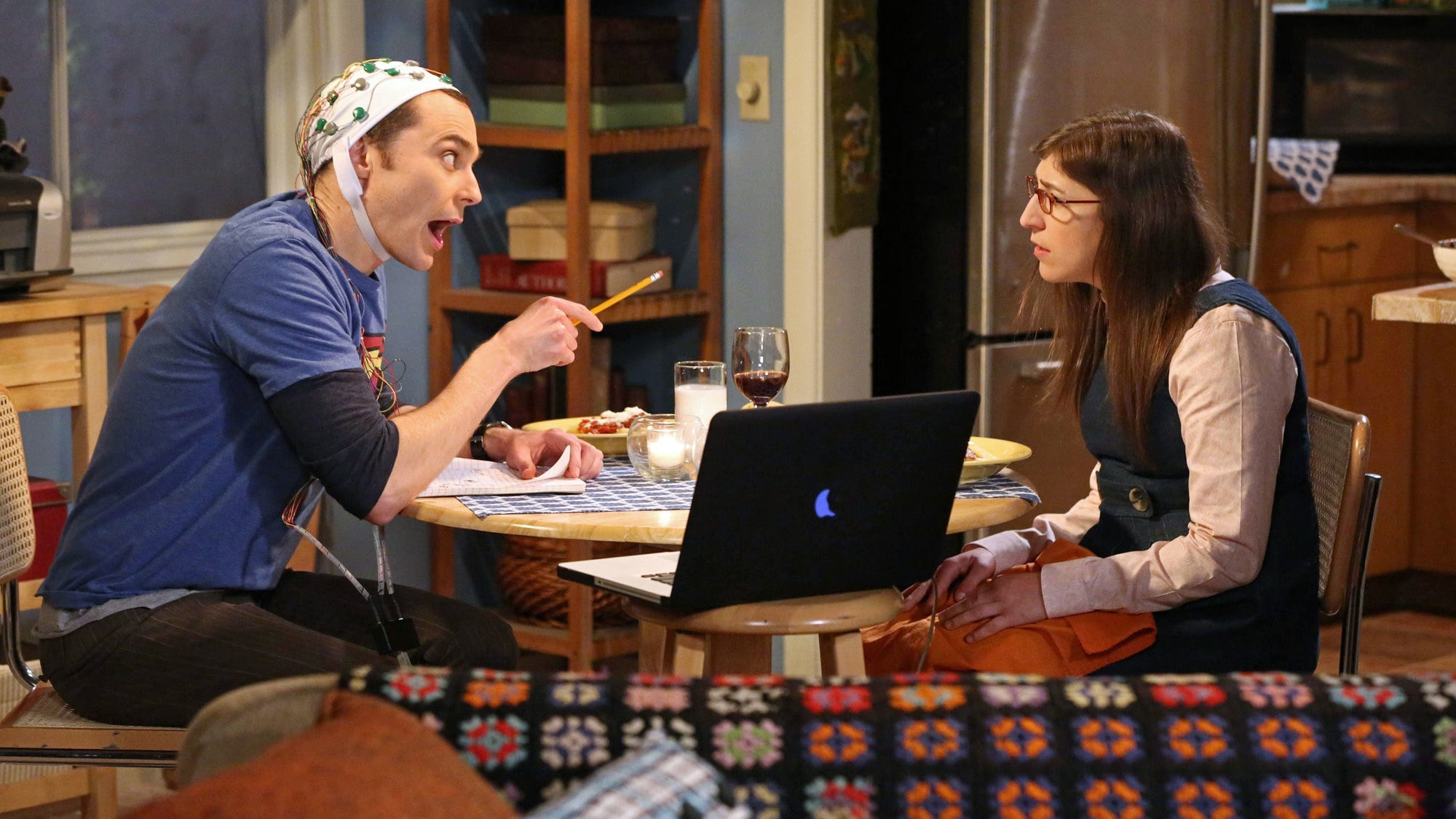 The Big Bang Theory Season 8 :Episode 13  The Anxiety Optimization