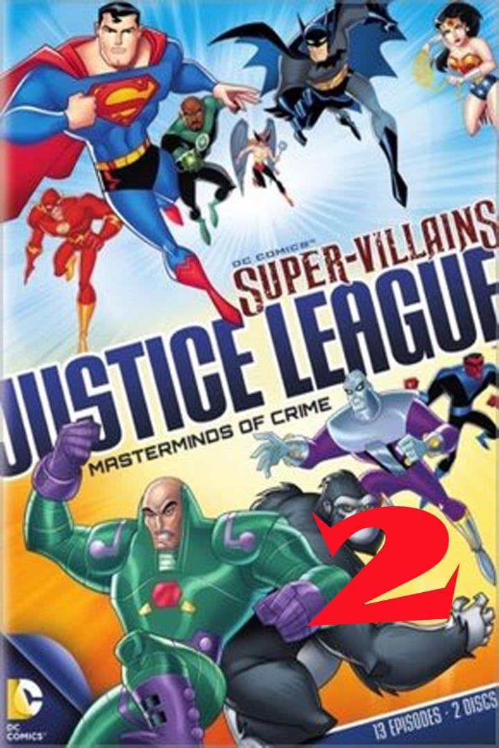 Super Vilões Liga da Justiça Mentores do Crime Disco 2 2014 (1970)