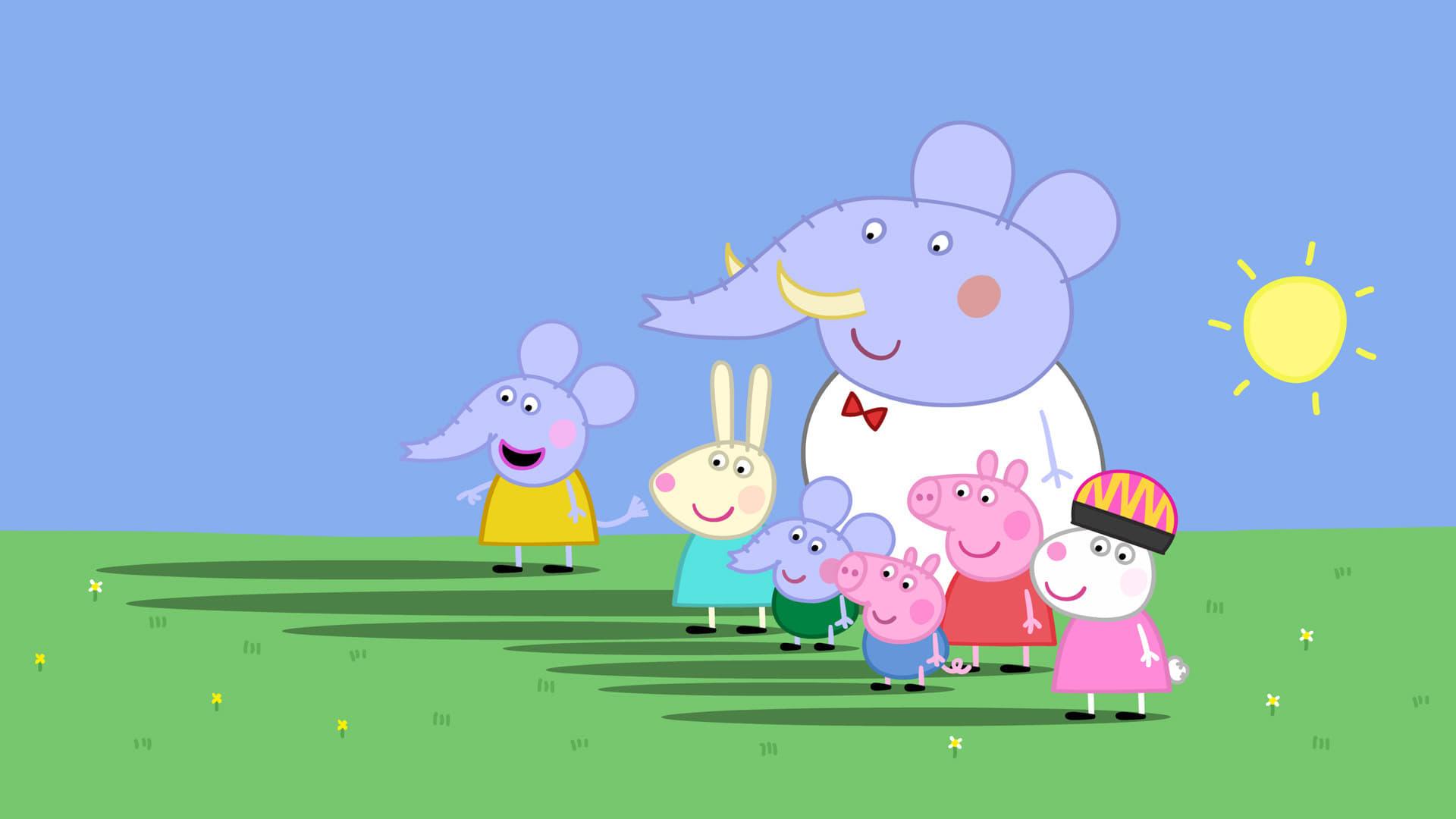 Peppa Pig Season 4 :Episode 7  Shadows