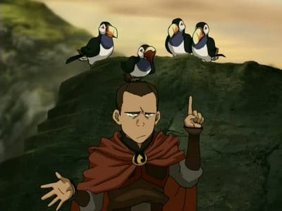 Avatar - Der Herr der Elemente Season 3 :Episode 2  Hoch das Bein!
