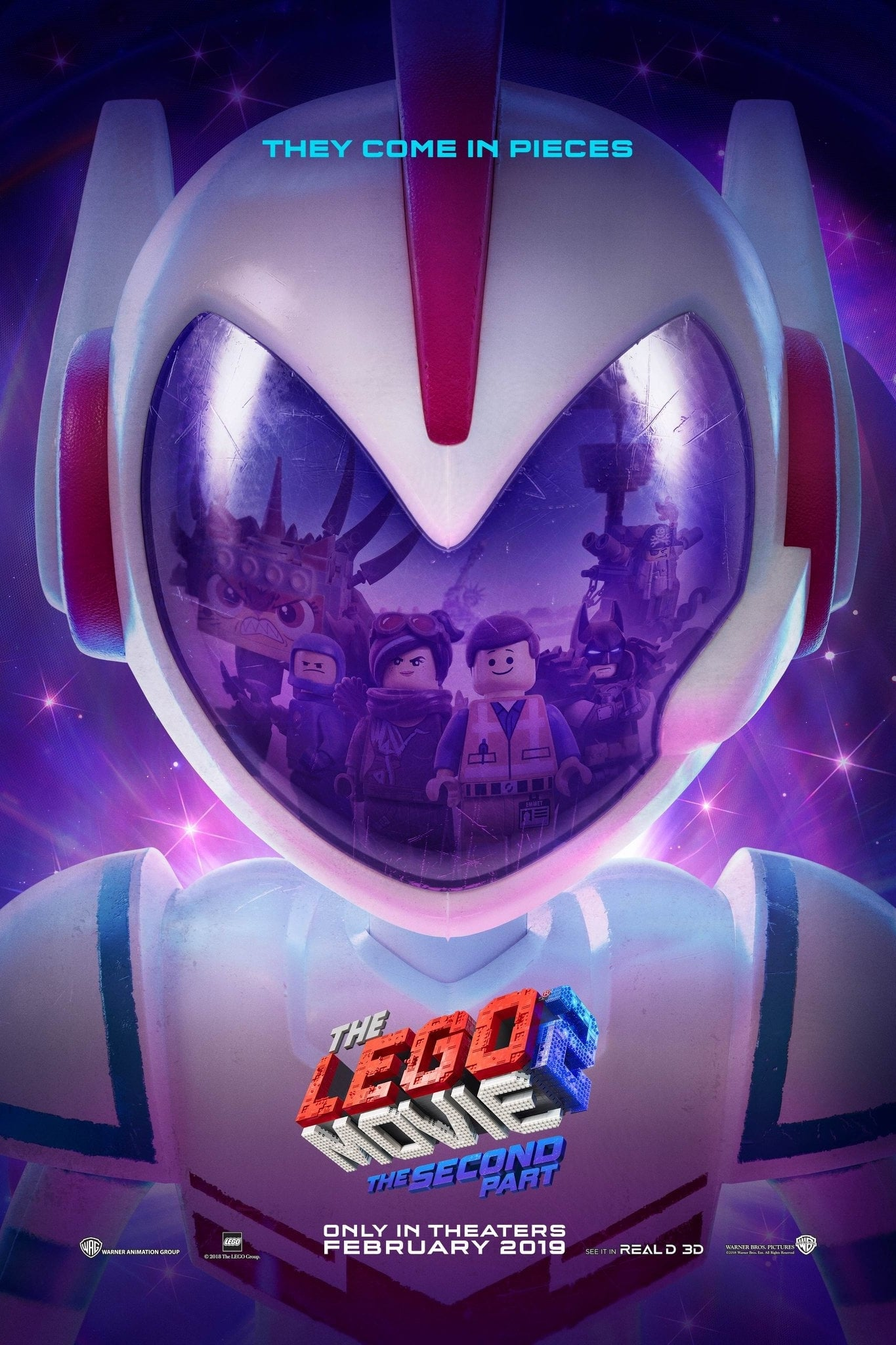 Poster and image movie Film The Lego Movie 2: The Second Part - The Lego Movie 2: The Second Part 2019
