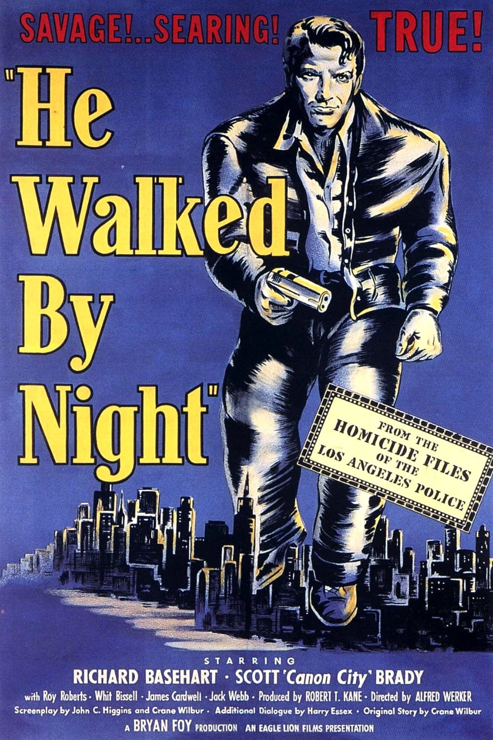 He Walked by Night on FREECABLE TV