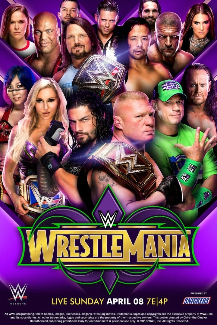 WWE WrestleMania 34 (2018)