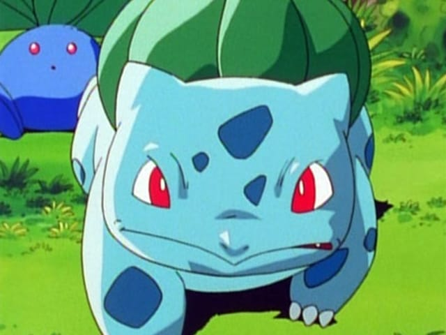 Pokémon Season 1 :Episode 10  Bulbasaur and the Hidden Village