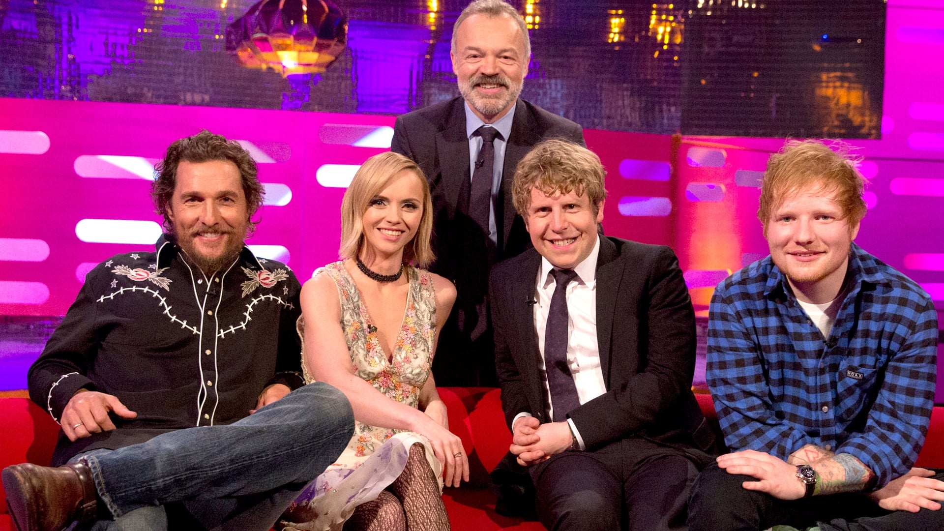 The Graham Norton Show Season 20 :Episode 14  Matthew McConaughey, Christina Ricci, Josh Widdicombe and Ed Sheeran