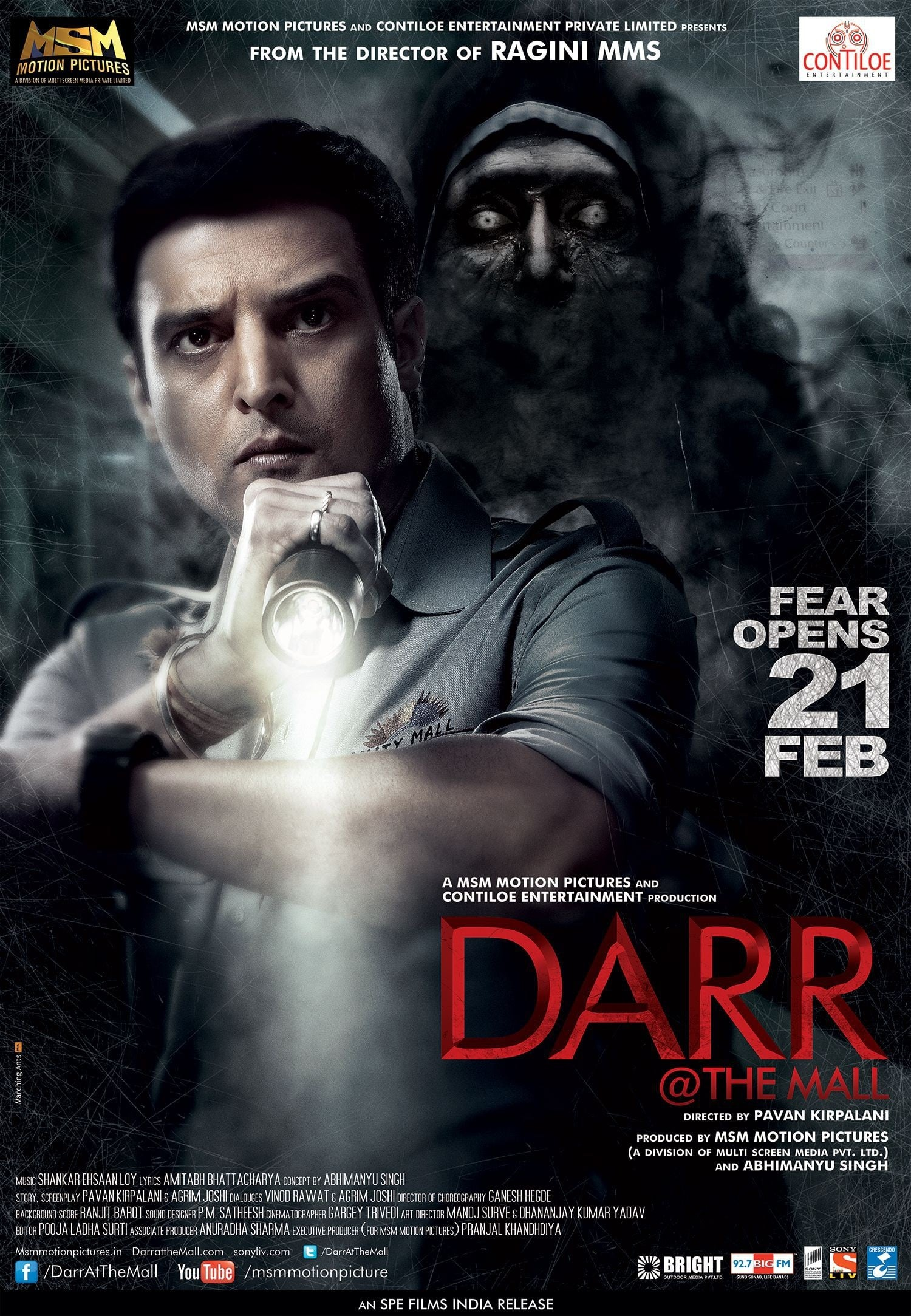 Poster and image movie Darr @ the Mall