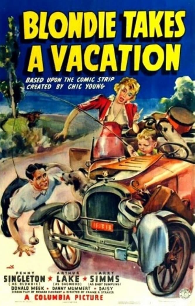 Ver Blondie Takes a Vacation Online HD Español (1939)
