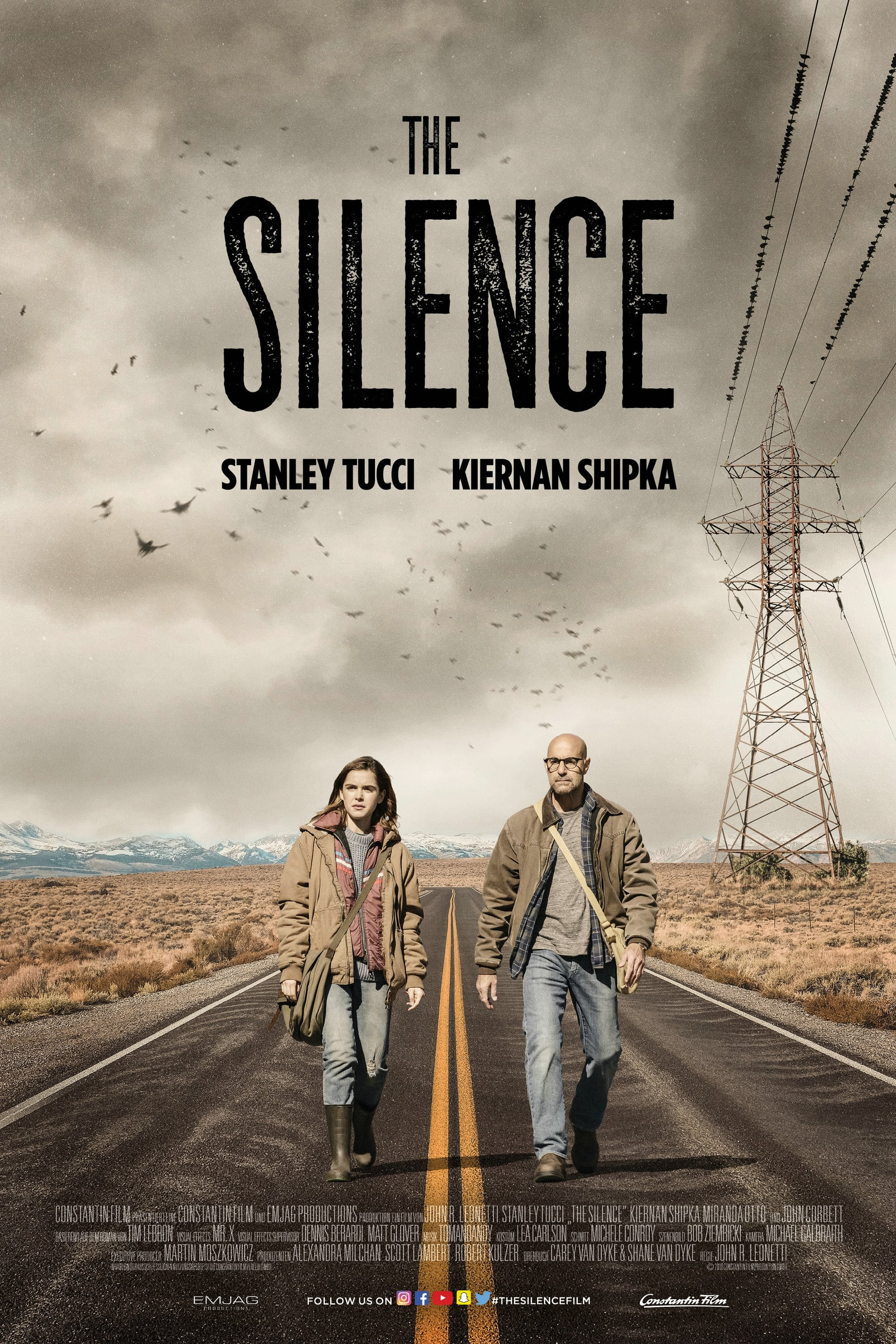 Poster and image movie Film The Silence - The Silence -  2019