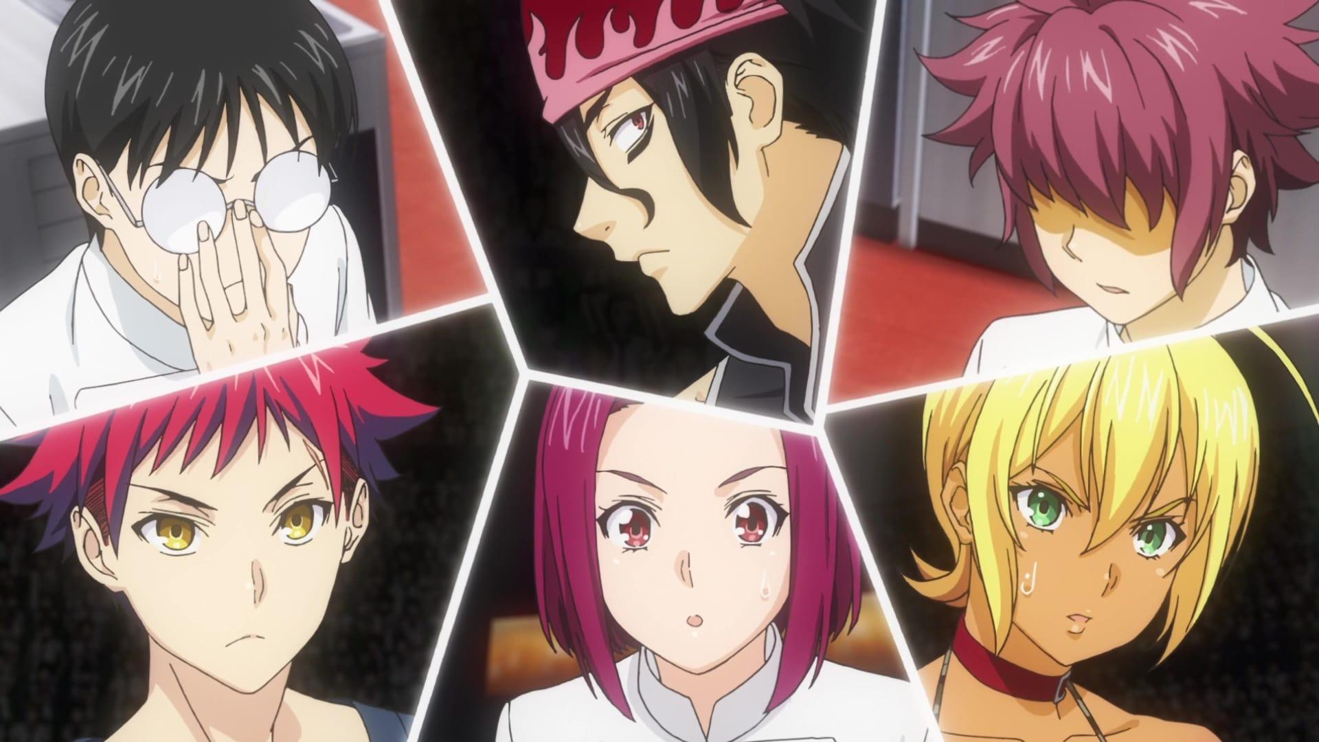 Food Wars! Shokugeki no Soma Season 5 :Episode 2  Preparetory Battle before the BLUE