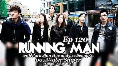 Running Man Season 1 :Episode 120  007 Water Sniper