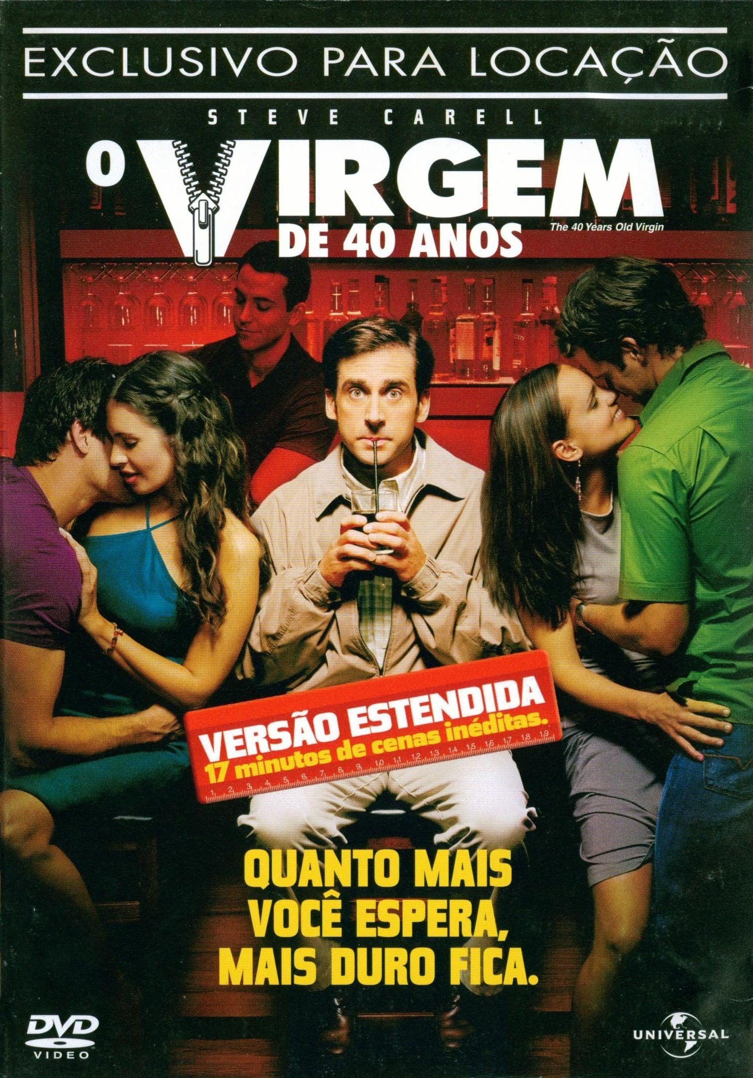 capa O Virgem de 40 Anos