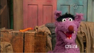 Sesame Street - Season 42 Episode 10 : Big Bad Wolf Huffs and Puffs Slimey