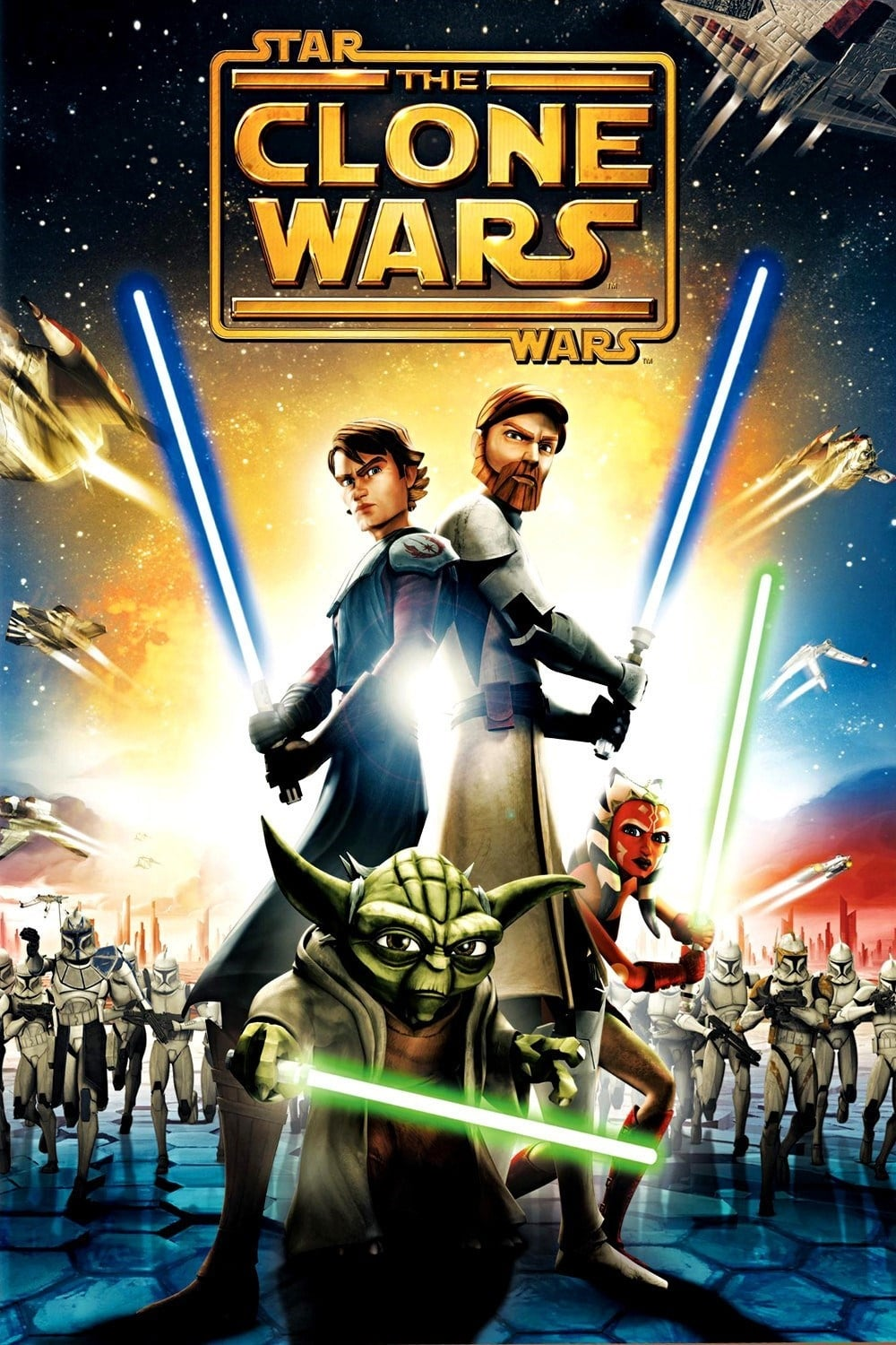 star wars the clone wars tv series 20082020  posters