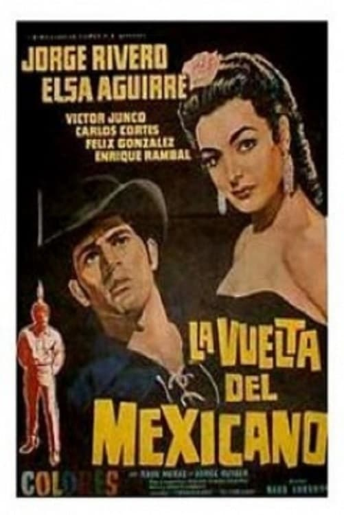 Ver La vuelta del Mexicano Online HD Español (1967)