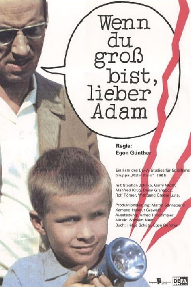 When You're Grown Up, Dear Adam
