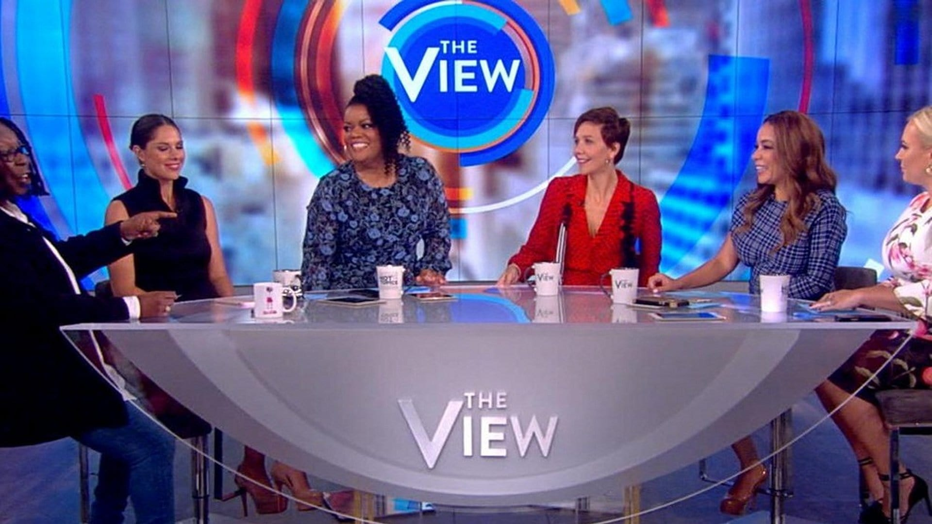 The View Season 22 :Episode 27  Maggie Gyllenhaal and Raven-Symoné