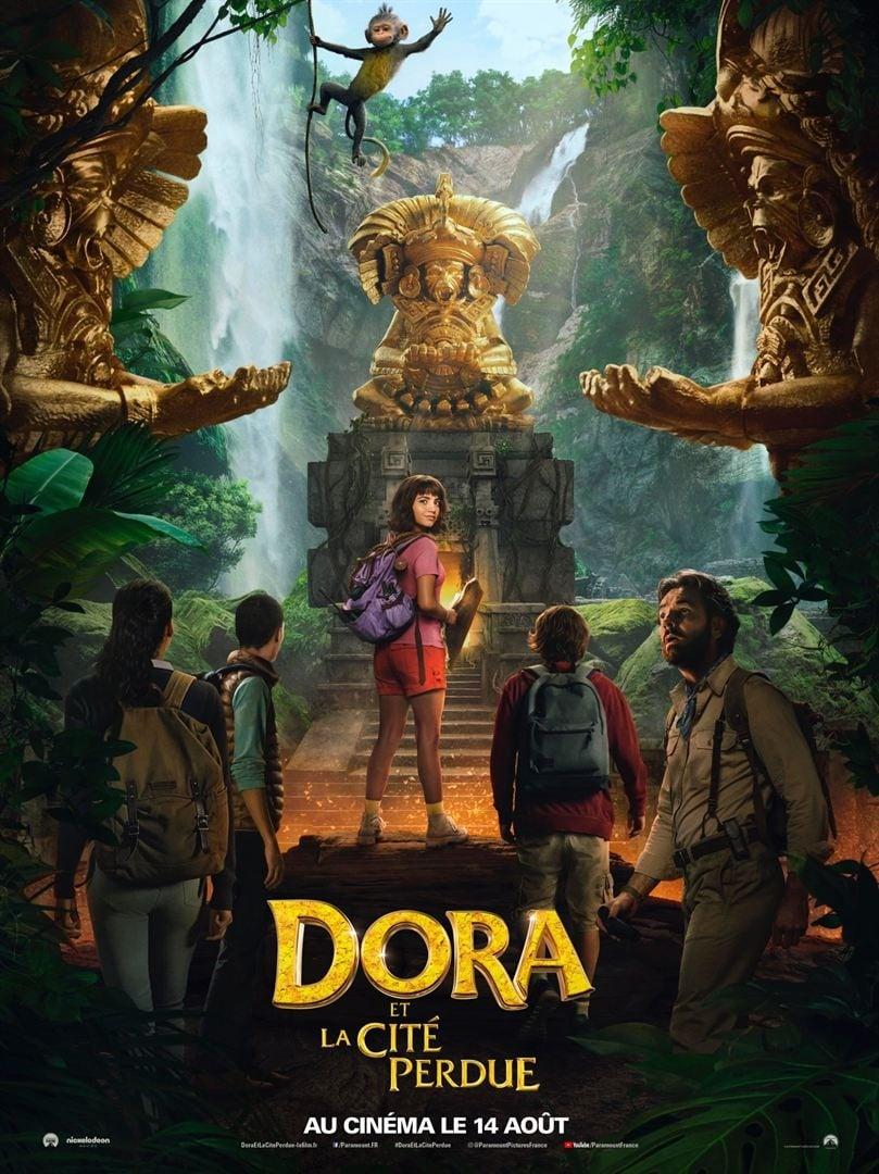 Poster and image movie Film Dora and the Lost City of Gold - Dora ir aukso miestas -  2019