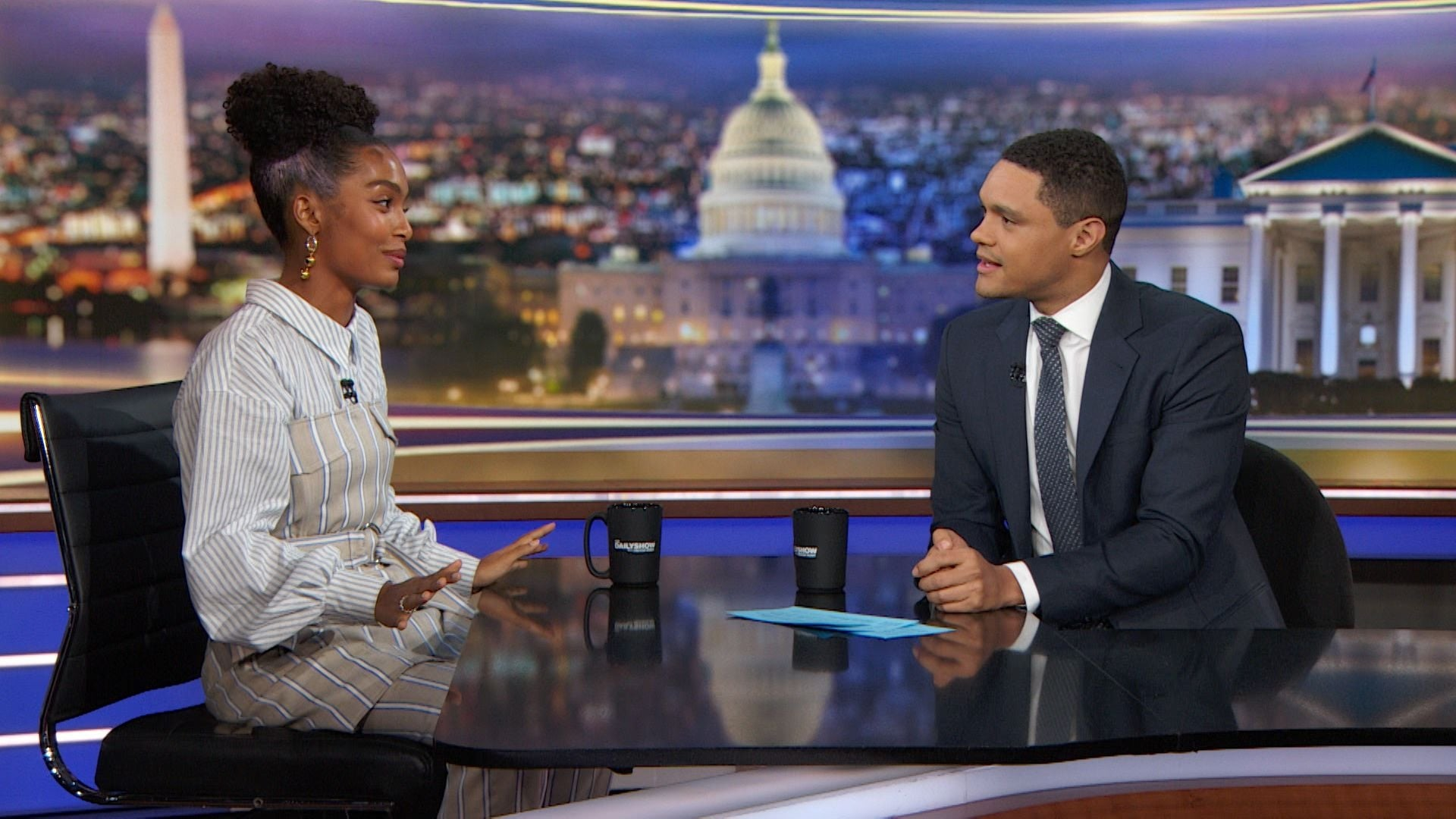The Daily Show with Trevor Noah Season 25 :Episode 47  Yara Shahidi