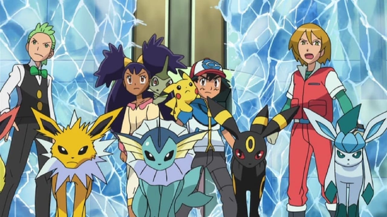 Pokémon Season 16 :Episode 5  Team Evoli und das Pokémon Rettungs-Team!