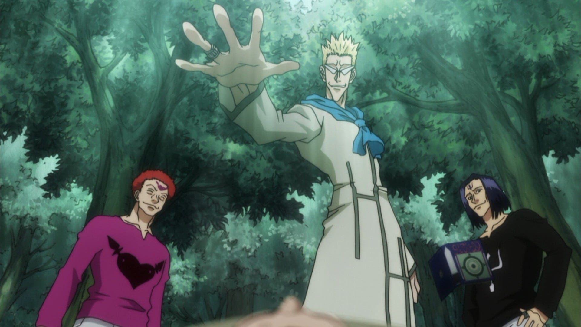 Hunter x Hunter Season 2 :Episode 10  Chase x And x Chance