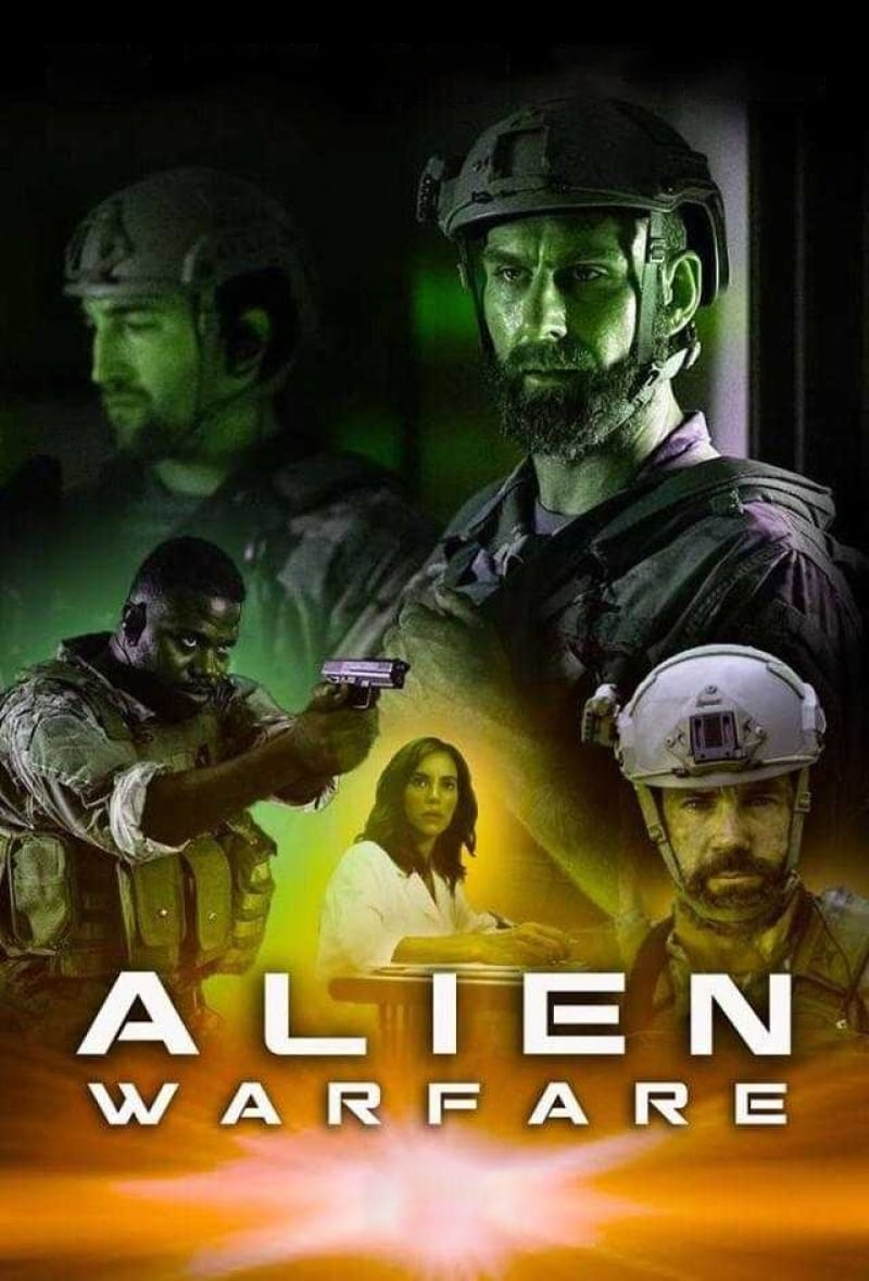Póster Alien Warfare
