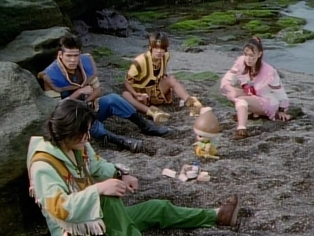 Super Sentai Season 22 :Episode 42  The Giant Monster's Terror