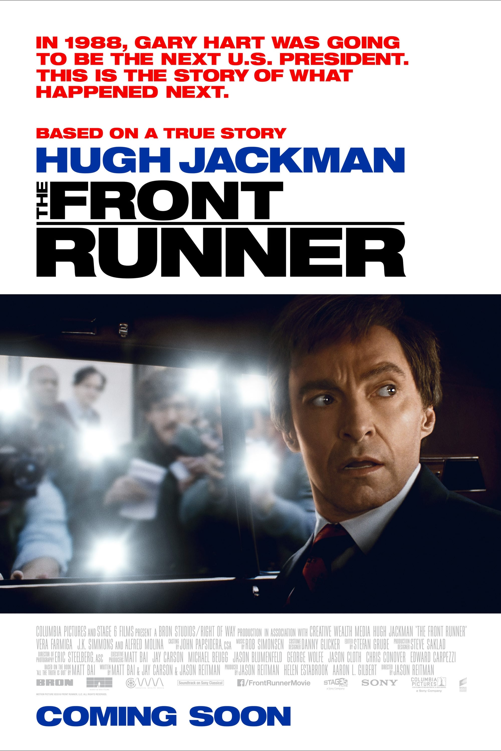 Poster and image movie Film The Front Runner - The Front Runner 2018