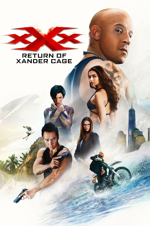 Xxx Retur af Xander Cage 2017 - Poster The Movie-3274