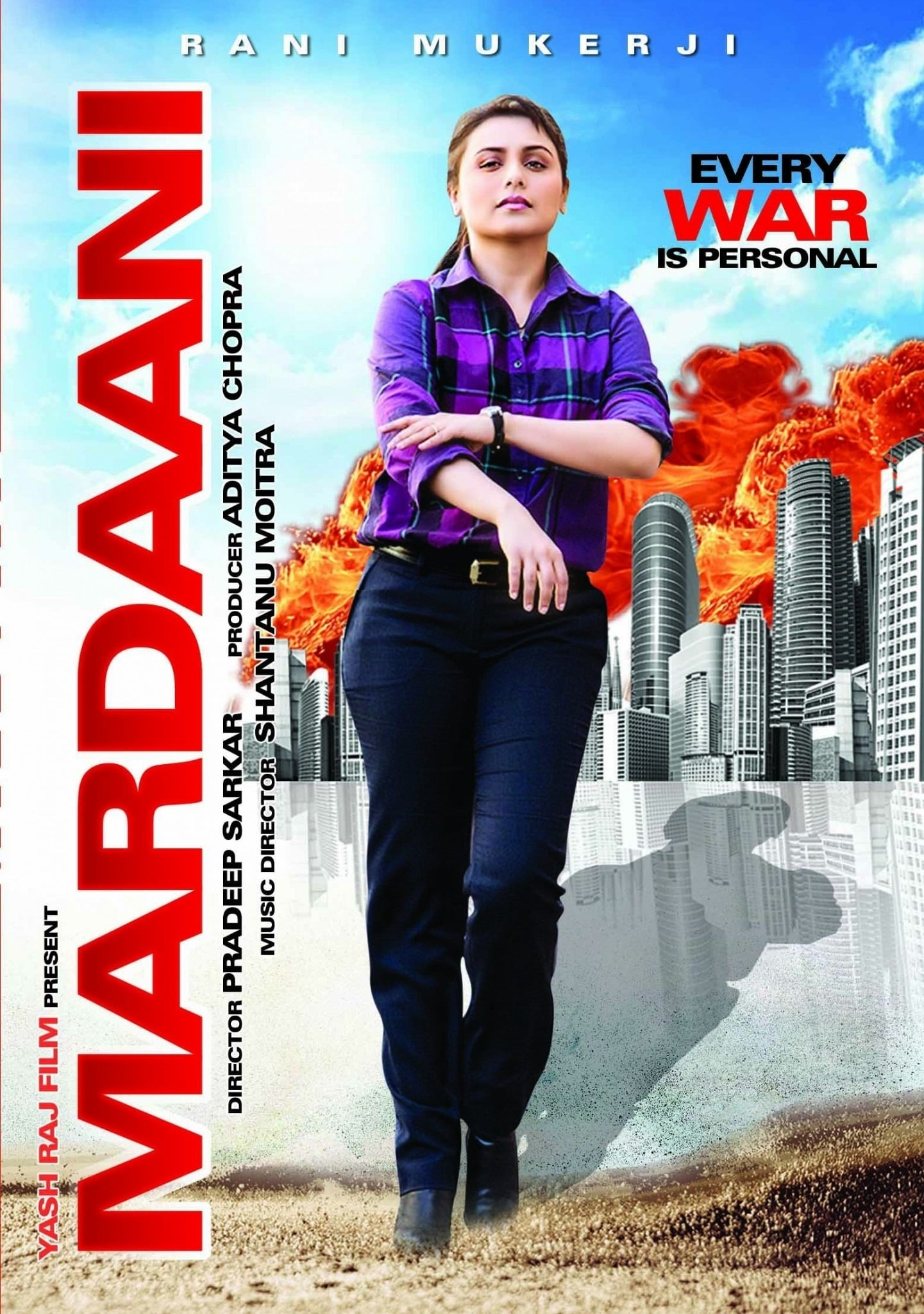 Mardaani 2014 BluRay x264 1080p [3.18 GB] 720p [1.01 GB] 480p [413 MB] [Hindi DD 5.1] | G-Drive
