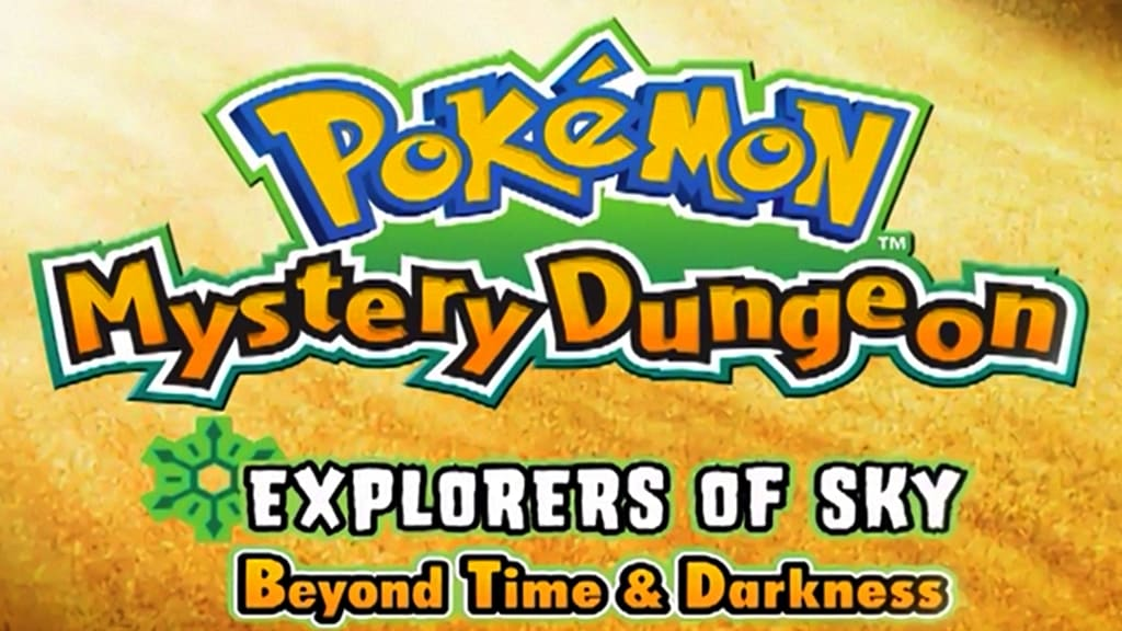 Pokémon Season 0 :Episode 20  Mystery Dungeon: Explorers of Sky - Beyond Time & Darkness