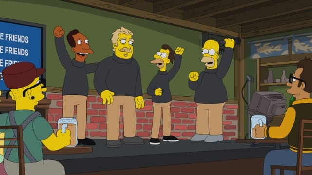 The Simpsons Season 32 :Episode 1  Undercover Burns