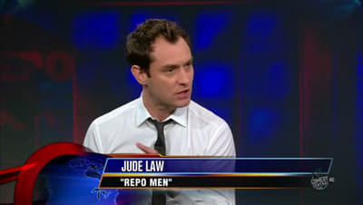 The Daily Show with Trevor Noah Season 15 :Episode 38 Jude Law