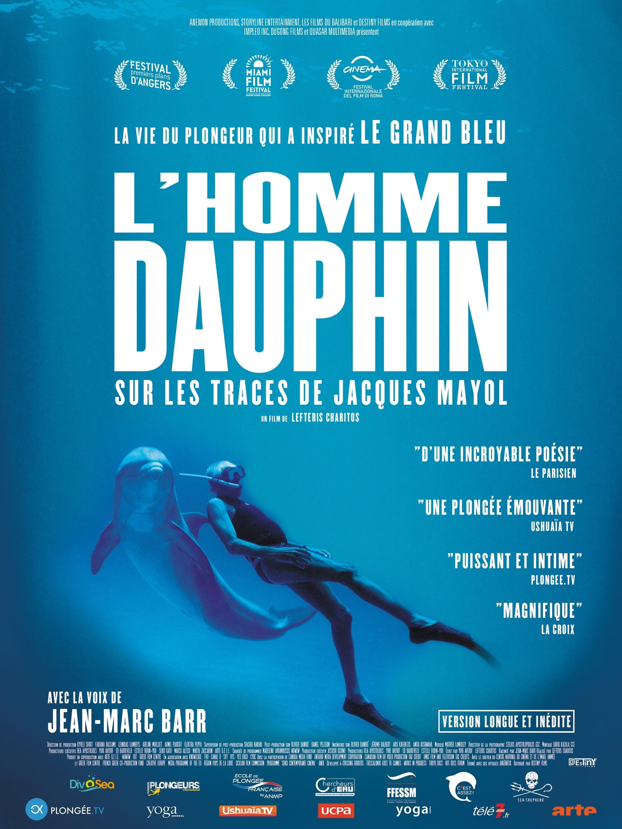 L'Homme dauphin, sur les traces de Jacques Mayol streaming sur zone telechargement
