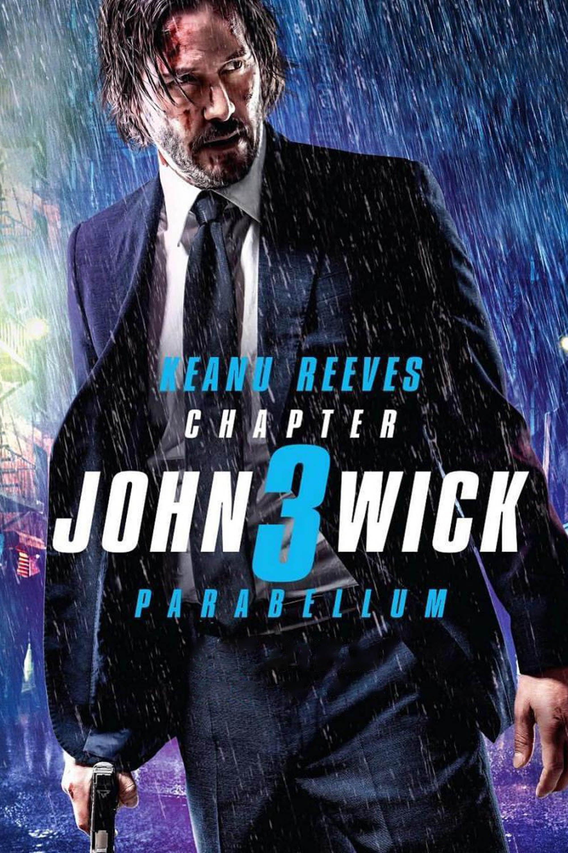 John Wick 3: Parabellum poster, capa, cartaz