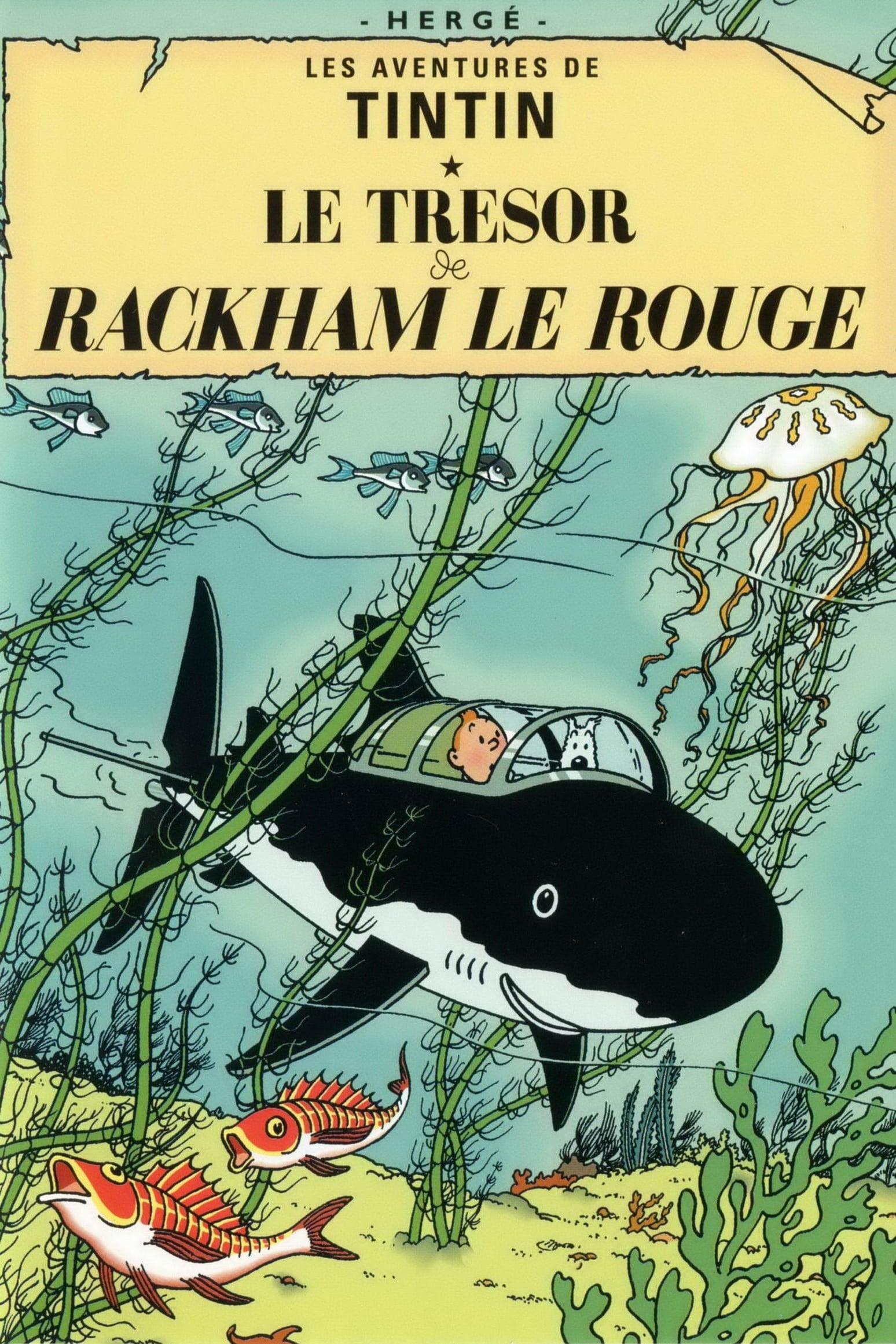 Les Aventures De Tintin 10 Le Trésor De Rackham Le Rouge - 1992