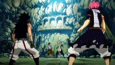 Fairy Tail Season 4 :Episode 24  Vier Drachen